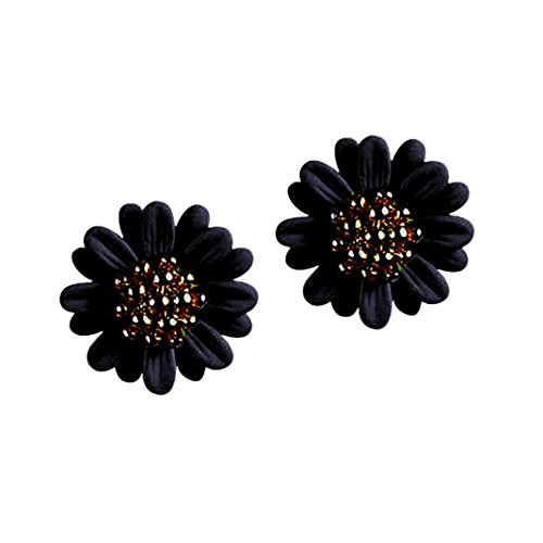Botrong New Fashion Women Lady Elegant Daisy flower Cute Ear Stud Earrings - Turquoise Fox Earrings