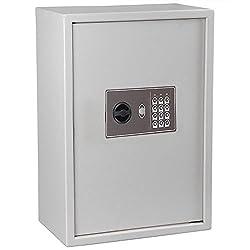 Key Cabinet Electronic Digital Safe Box Storage 245 Holders Key Rack Hotel Security Lock With Ebook