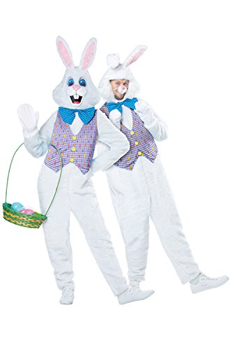 [California Costumes Classic Easter Bunny Adult Costume-Large/X-Large] (Classic Bunny Costumes)