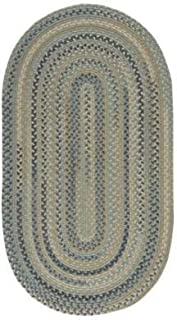 "product image for Capel Melange Beige Multi 9' 6"" Round Braided Rug"