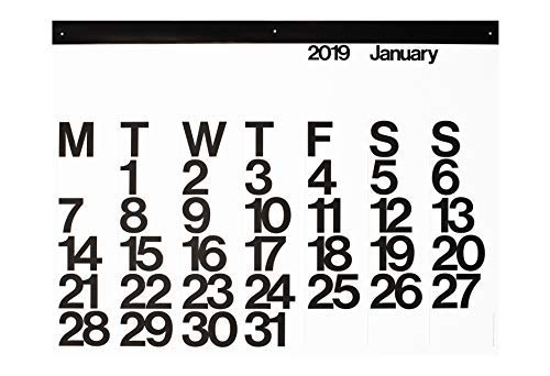 2019 Stendig Wall, Office, and Home Calendar | Authentic Original Design of Massimo Vignelli