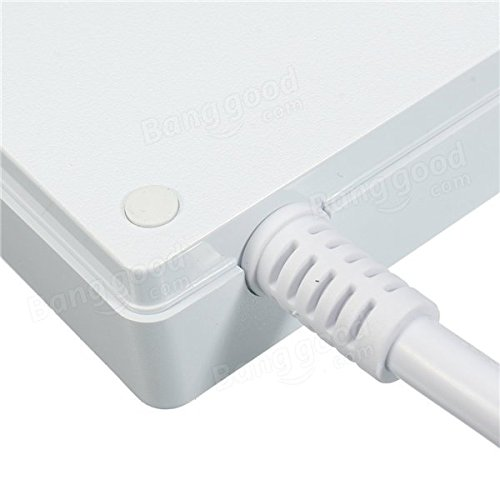 ELE YA30WS-6AU6U US 6 Outlet Socket Power Strip Adaptor with 6 USB Charging Ports - Tools & Home Improvement Switches & Sockets - (Black) - 1 x ELE YA30WS-6AU6U US Plug Socket by Unknown (Image #4)