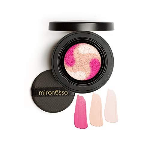 Mirenesse Cosmetics Lift & Tint Liquid Blush - Cushion Compact 2. Peony ()
