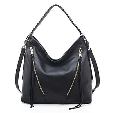 Avery Shoulder Bag Black