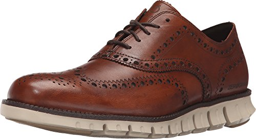 Cole Haan Men's Zerogrand Wing Oxford, British Tan, 10 M US from Cole Haan