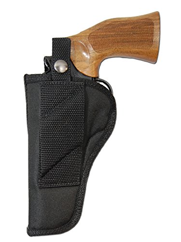 Barsony New OWB Cross Draw Gun Holster for Ruger Single SIX; Security SIX Right ()