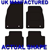 Vauxhall Insignia Rubber Car Mats 2008- (4 Round Clips)
