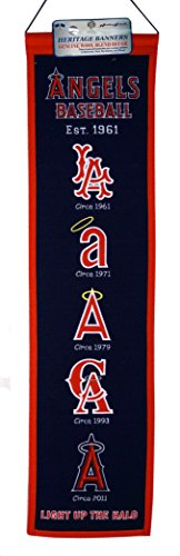 Winning Streak Sports MLB Los Angeles Angels Heritage Banner