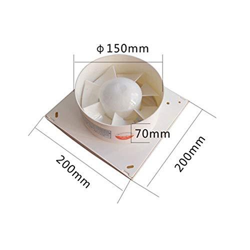 Ventilation Fan, Window Type Bathroom Kitchen Wall Mounted Small Exhaust Fan by Moolo (Image #3)