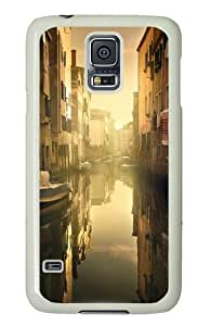 Samsung Galaxy S5 Case and Cover - Good Morning Venice PC Hard Case Cover for Samsung Galaxy S5 White