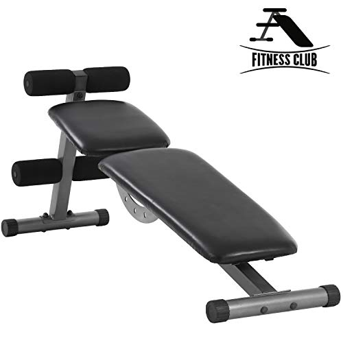 Olympic Weight Bench Workout Angle Adjustable for Home Gym Fitness 330lbs Easy to Move
