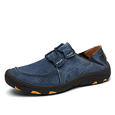 Amazon.com | Wandefull Men's Leather Outdoor Hiking Shoes