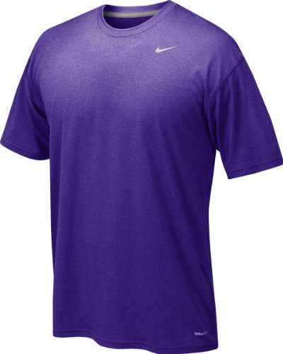 Nike Men's Legend Short Sleeve Tee, Purple, S
