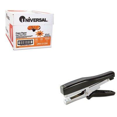 KITBOSB8HDPUNV21200 - Value Kit - Stanley Bostitch B8 Heavy-Duty Plier Stapler (BOSB8HDP) and Universal Copy Paper (UNV21200)