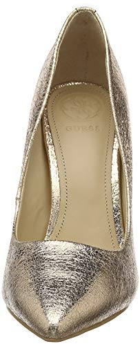 Oro leathe Scarpe decollete Okley3 Donna Tacco Chiusa Rose pump gold Col Punta Guess wO1vxFqq