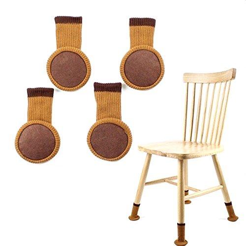Likiq Chair Leg Socks For Hard Wood Floor Protectors