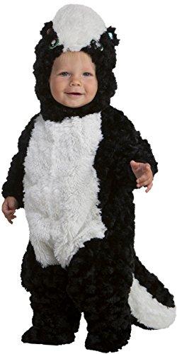 Precious Skunk Toddler Costume, 3T-4T Black ()