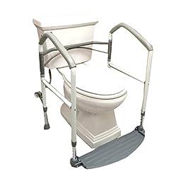 Buckingham Foldeasy Toilet Foldable Free Standing Safety Frame
