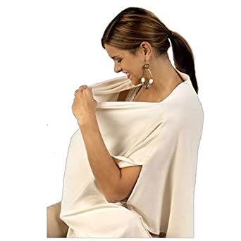 Amazon Com Busy Baby Wrap Nursing Cover Color Natural Clothing
