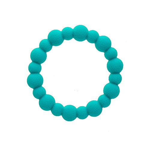 Brilliant Silicone Teething Ring and Jewellery - helps with teething pain,...