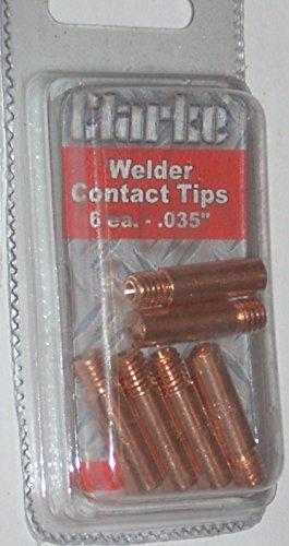 12 Clarke 11-35 Mig Welding Contact Tips Fits Tweco Mini/#1 Lincoln 100L Mig Gun
