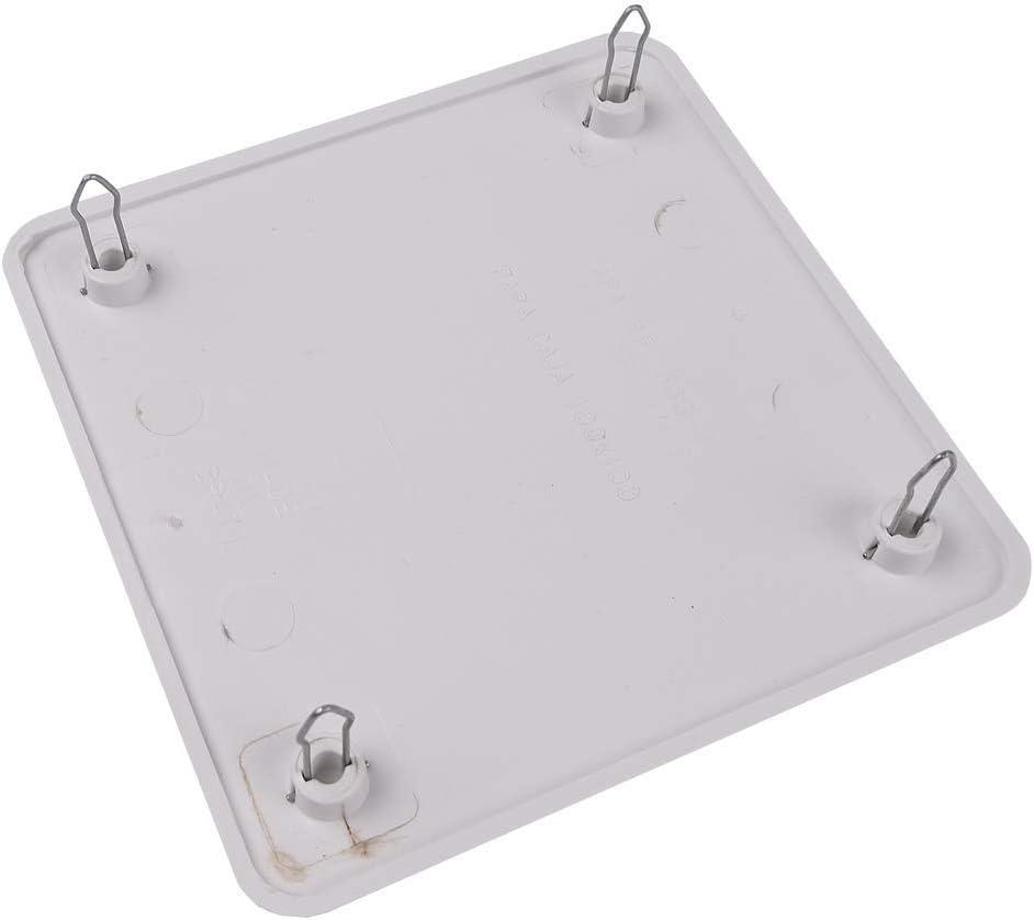 BeMatik - Tapa de Caja de Registro Cuadrada para Caja de 100x100mm ...