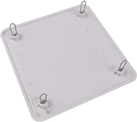 BeMatik - Tapa de Caja de Registro Cuadrada para Caja de ...