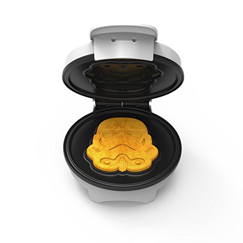 Star Wars Stormtrooper Waffle Maker with Nonstick Finish