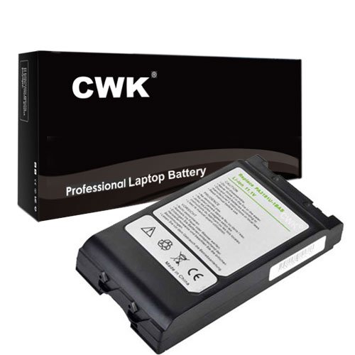 CWK® New Replacement Laptop Notebook Battery for Toshiba Tecra M4 M7 TE2000 TE2100 PA3176U-1BAS PA3191-2BAS Toshiba Portege M200 M205 M400 M405 M700 M750 M780 Tablet PC Toshiba Satellite Pro 6000 (Toshiba Satellite R10 Tablet)
