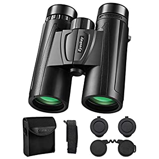 Eyeskey 10X42 Binoculars for Adults, HD Binocular for Bird Watching Travel Concerts Sporting Games, Durable and Lightweight, Wonderful Gift to Friends