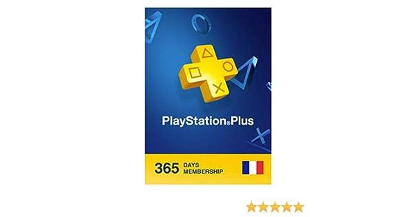 TARJETA Suscripcion PSN Plus 365 dias (Francia/French)