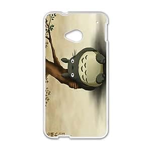 My Neighbor Totoro Cute Cartoon Anime White HTC M7 case