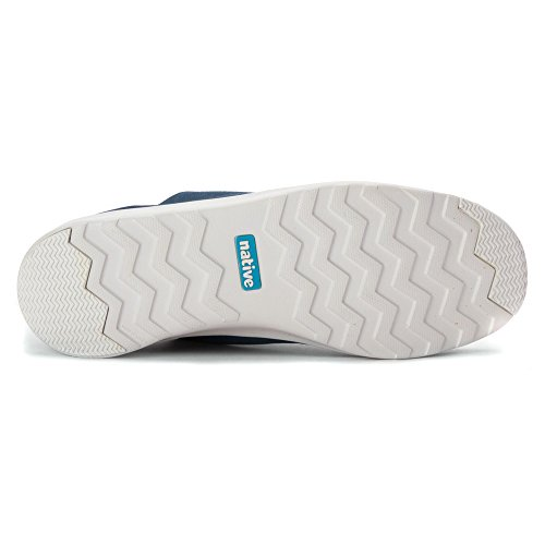 Native Apollo Moc Jiffy Black Shell White Nat Rubber - Not so Blue, 10+12/43