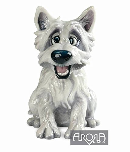Westie Dog *Mac* Stoneware Sculpture From Pets with Personality