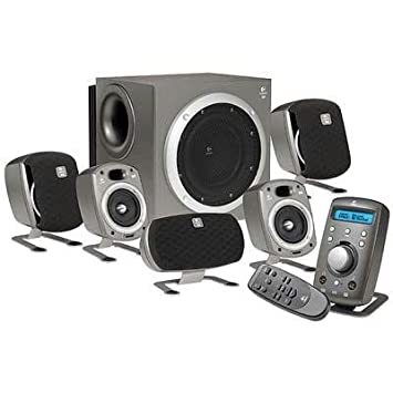 Hedendaags Amazon.com: Logitech Z680 5.1 Computer Speakers (5-Speaker, Silver TD-29