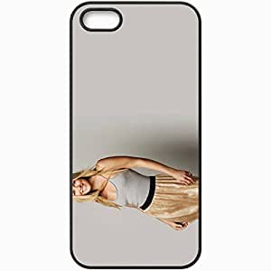 Personalized iPhone 5 5S Cell phone Case/Cover Skin Ali Larter Black by lolosakes
