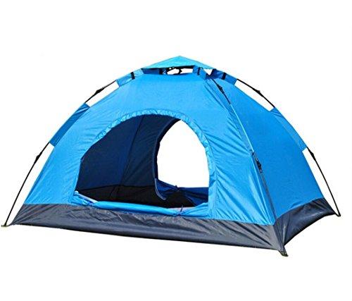 エスニック基準歌詞自動2秒スピードオープン自動テント屋外ダブルキャンプレイン日焼け止めキャンプテント
