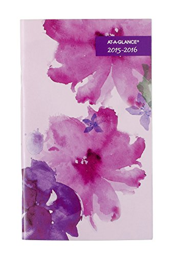At A Glance Monthly Pocket Planner 2015  Beautiful Day  2 Year  3 62 X 6 06 Inch Page Size  938 021