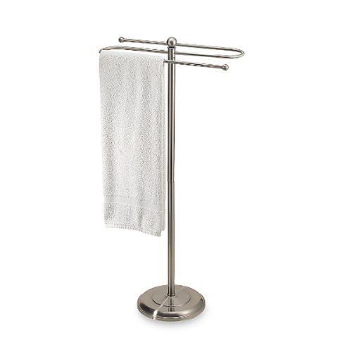 atin Nickel Towel Stand (Valet Stand Satin)