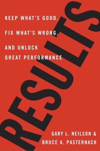 Results  Keep Whats Good  Fix Whats Wrong  And Unlock Great Performance