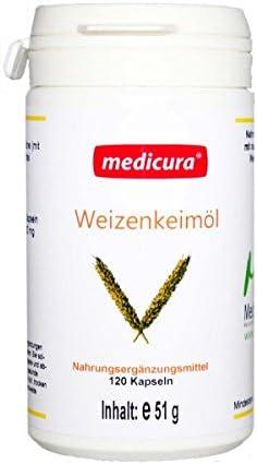 Medicura 6x Weizenkeimöl - 120 Kapseln - 51 g