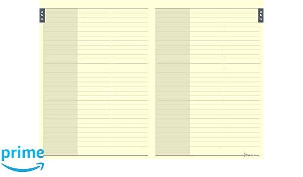 Filofax Flex - Recambio de hojas para agenda de contactos ...