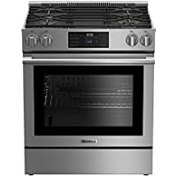 Blomberg BGR30420SS Slide-In Gas Range, 30, Stainless Steel