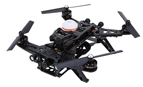 Walkera Runner 250 RTF FPV Drone Quadcopter with DEVO 7 HD Camera Image Transmission (Basic 2)