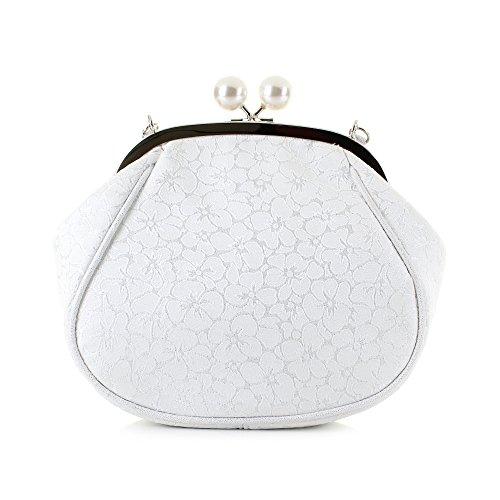 White Unica Silver Taglia Ruby Poschette Giorno Shoo Donna wxC0wYXUq