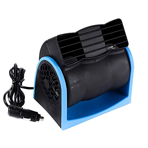 Wenyun Car Cooling Air Fan 12V Auto Vehicle Van SUV Speed Adjustable Silent Cooler Vent for Car, SUV, Truck and Boat