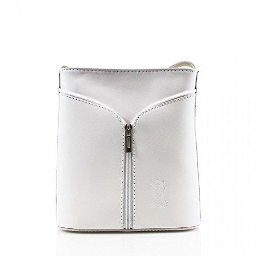 Di Progettista Qualità Piccolo Delle Donne W18cm Italiana Croce H20cm Bianco D7cm X Spalla Cwv0026 Pelle Z1wx0
