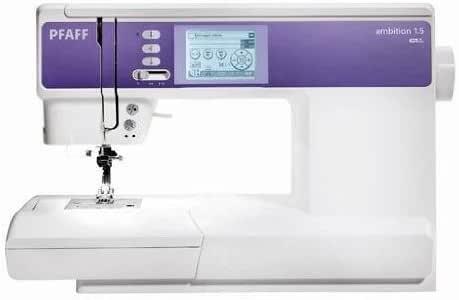 Pfaff - Máquina de coser (Ambition 1.5): Amazon.es: Hogar