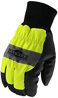 Radians, Inc. RWG800M Radians Rwg800 Radwear Silver Series Hi-Visibility Thermal Lined Glove, Medium