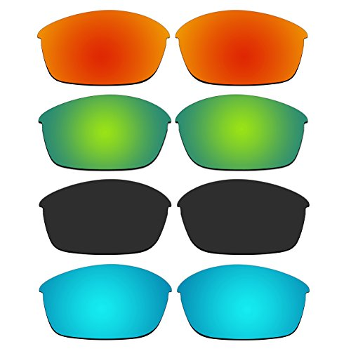 4 Pair Replacement Polarized Lenses for Oakley Flak Jacket Sunglasses Pack - 881 Oakley 03